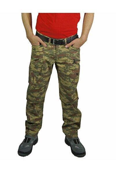 Uniprom Outdoor Dağcı Avcı Iş Pantolonu Kamuflaj Desen Avrupa Model-2