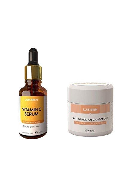 Luis Bien Leke Kremi + C Vitamini Serum 2'li Set