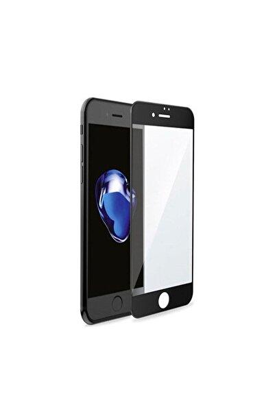 aksesuar sepetim Apple Iphone 7 Plus Siyah Kırılmaz Cam Iphone 7 Plus Tempered Glass Ekran Koruyucu