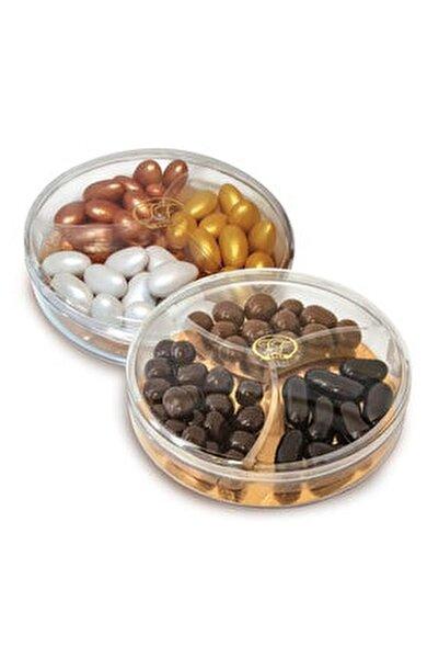 Sedefli Karışık Renkli Badem Ve Çikolatalı Mix Draje 120g X 2