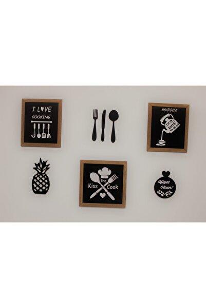AHŞAP ATÖLYE Çerçeveli Mutfak Panoları Ahşap Mutfak Tabloları