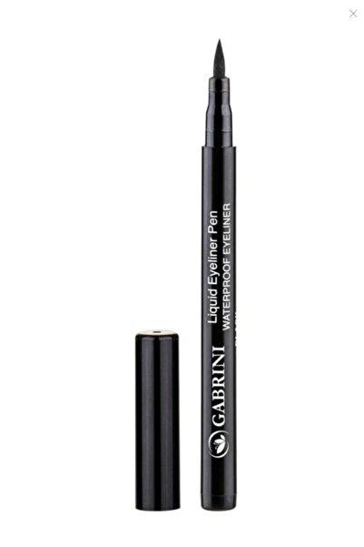 Gabrini Likit Siyah Eyeliner Liquid Eyeliner Pen