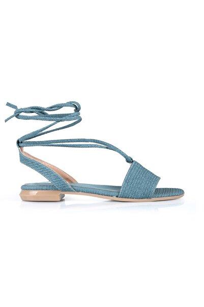 Oblavion Kadın Mavi Sandalet