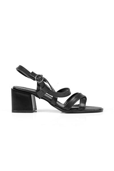 Oblavion Kadın Siyah Sandalet