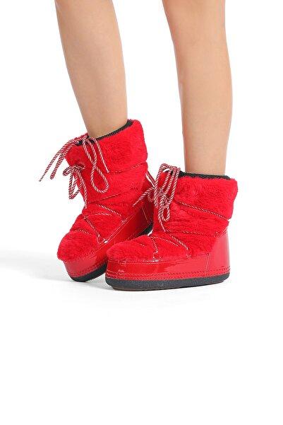 Oblavion Kadın Kırmızı Kar Botu