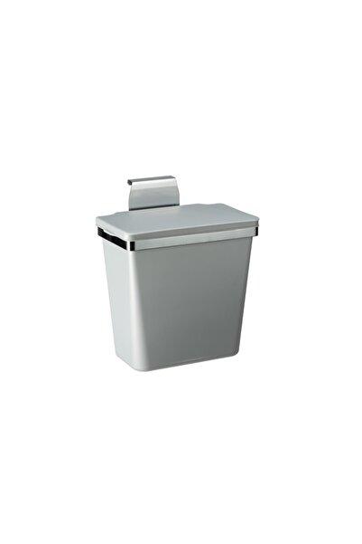 Pelikan Metal Askılı Mutfak Çöp Kovası-metalik Gri 11lt