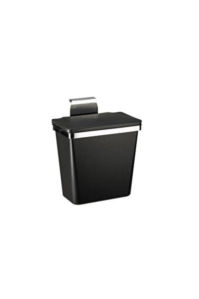 Pelikan Metal Askılı Mutfak Çöp Kovası-siyah 11 Lt