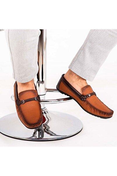 Milano Brava Erkek Kahverengi Ortopedik Loafer Ayakkabı