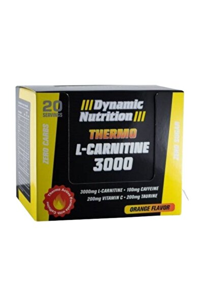 Dynamic Nutrition Thermo L Carnitine 3000 20 Ampul