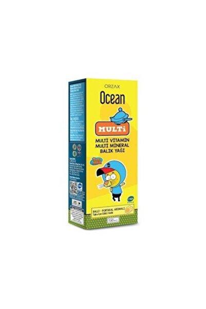 Ocean Multi Omega 3 Kral Şakir 150 Ml Şurup Skt 2023