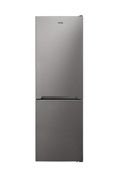 Vestel NFK3701 G A++ 370 Lt No-Frost Kombi Gri Buzdolabı