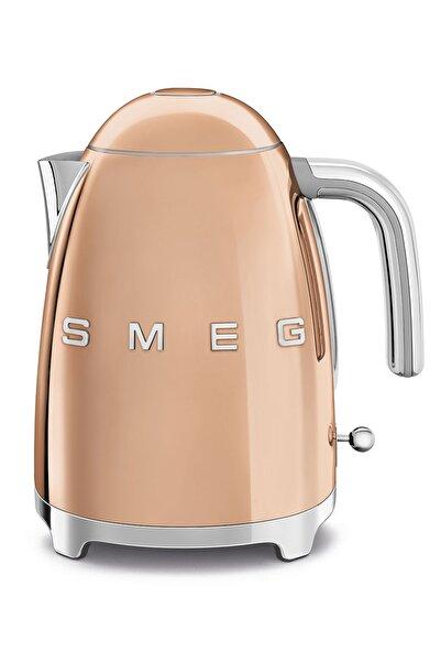 SMEG Yumuşak Açılır Kapak Rose Gold Kettle 50's Retro Style Klf03rgeu