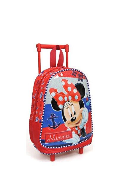 Minnie Mouse Çekçek Anaokul Çantası