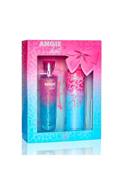 Rebul Angıe Hot Just Be Hot Edp 50 ml Kadın Parfüm + Deodorant 150 ml Set 8691226601472