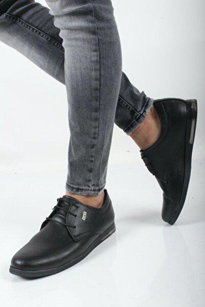 Oksit Erkek Siyah Lope Casual Ayakkabı Cnt 211