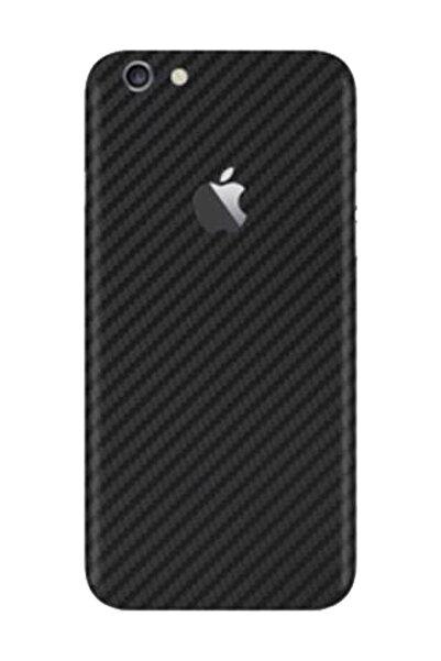 Keep Armor Iphone 6 6s Kılıf Karbon Fiber Sticker Kaplama Jelatin Siyah
