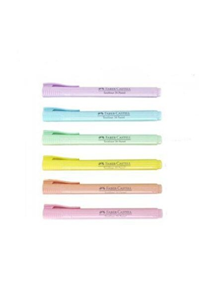 Faber Castell 6'lı Poşet Fosforlu Kalem 38 Pastel