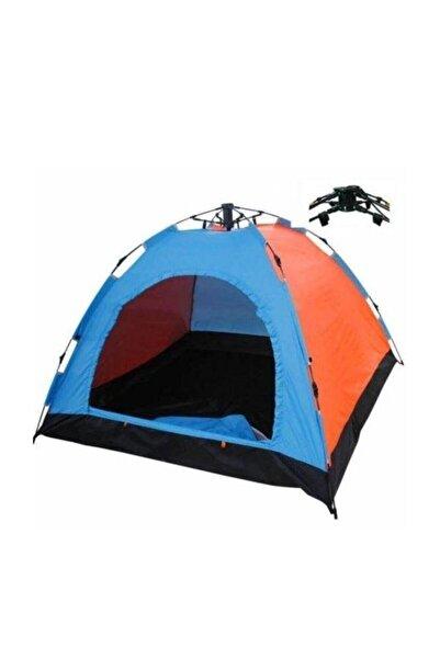 Onetick 6 Kişilik Renkli Dayanıklı Tam Otomatik Kamp Çadırı 220x250x165
