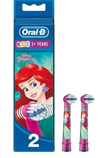 Oral-B Stages Disney Princess Çocuklar Için Diş Fırçası Yedek Başlığı 2 Adet