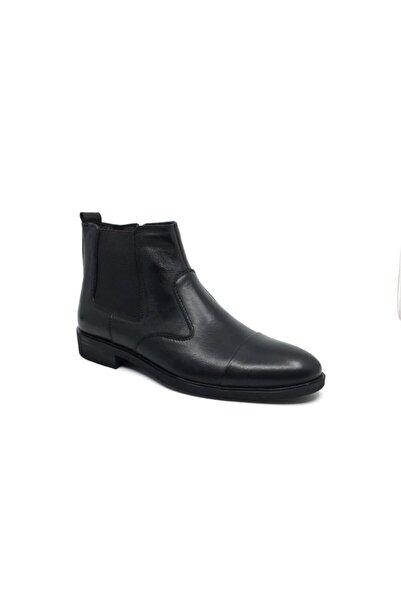 KALE Taşpınar %100 Deri Kürklü Klasik Erkek Kışlık Bot Ayakkabı 40-44