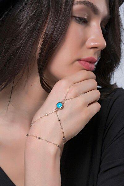 Modex Kadın Rose Nazar Boncuklu Şahmeran Uvsh9959