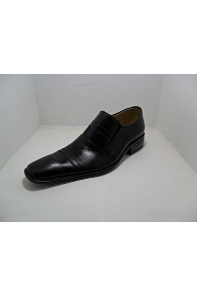 NK Erkek Siyah Klasik Ayakkabı