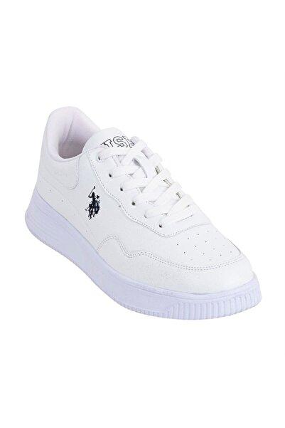 U.S. Polo Assn. Kadın Beyaz Spor Ayakkabı