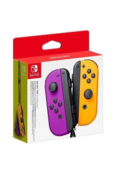 Nintendo Switch Joy-Con Controller Pair (Neon Purple/Neon Orange)