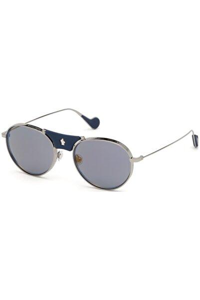 Moncler Unisex Gri Güneş Gözlüğü