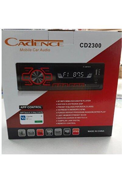 Cadence Cd-2300 4x60 Watt  Bluetoothlu  Oto Teyp