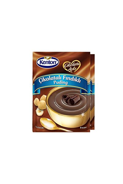Kenton Puding Çikolata Aşkı Çikolata Fındıklı 100 Gr X 2'li Paket