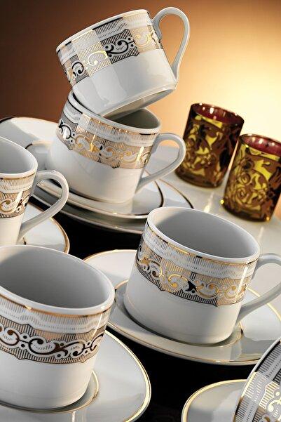 Kütahya Porselen Rüya 7043 Desen Kahve Fincan Takımı