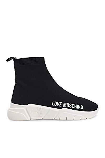Love Moschino Kadın Siyah Sneaker  Ayakkabı Ja15343g1cız4000
