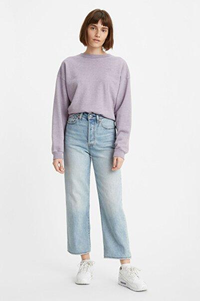 Levi's Kadın Açık Mavi Yüksek Bel Ribcage Straight Jean