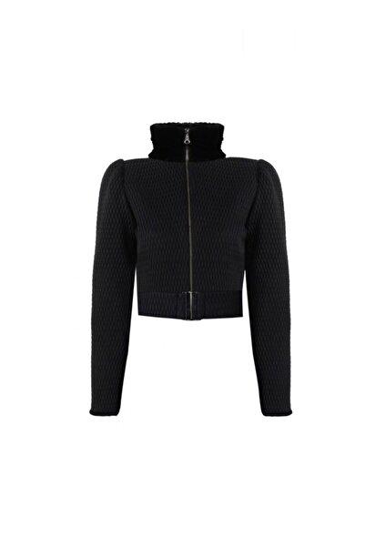 Nur Karaata Kadın Siyah Ceket