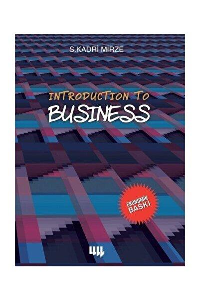 Literatür Yayıncılık İntroduction To Business