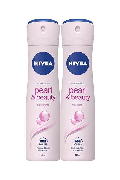Nivea Pearl & Beauty Sprey Deodorant 150 ml Kadın 2'li Avantaj Paketi