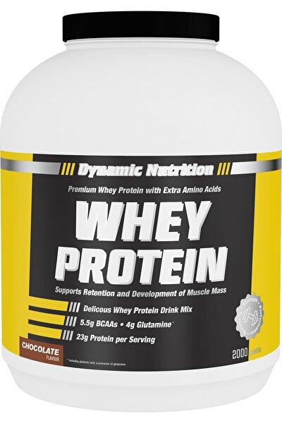 Dynamic Nutrition Whey Protein Tozu 2000 Gr (çikolata Aromalı)