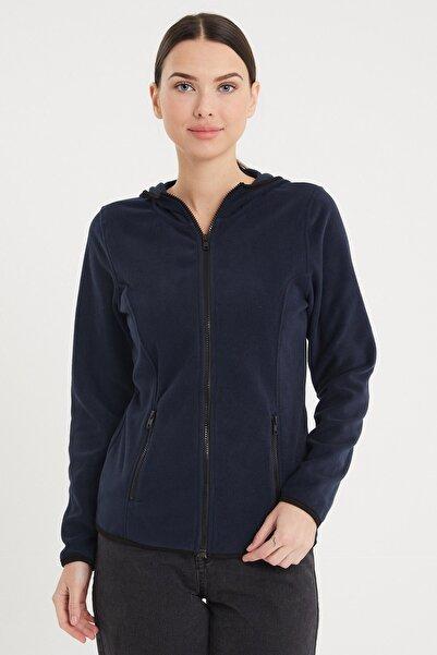 VENA Kadın Lacivert Sıenna Polar Ceket