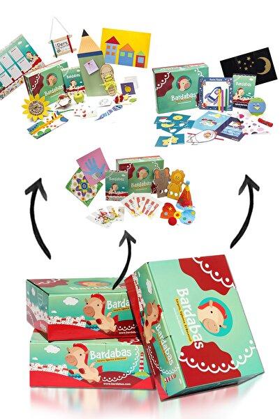 Bardabas 2-3 Yaş Arası Çocuklar Için Ev Okulu Aktivite Ve Gelişim Fırsat Seti
