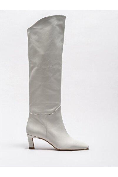 Elle Shoes Kadın Bej Çizme