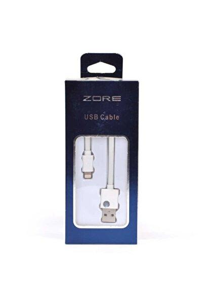 zore Exclusive Lightning Usb Kablo Beyaz