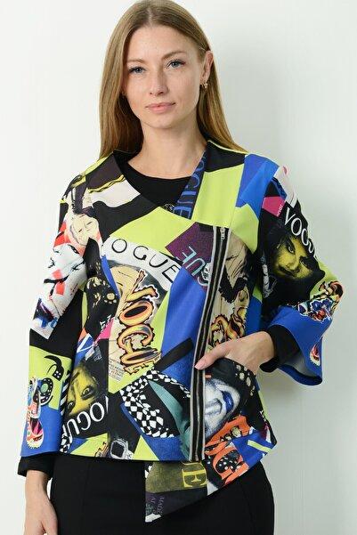 Herry Kadın Mavi Bluz H20dmy6747112