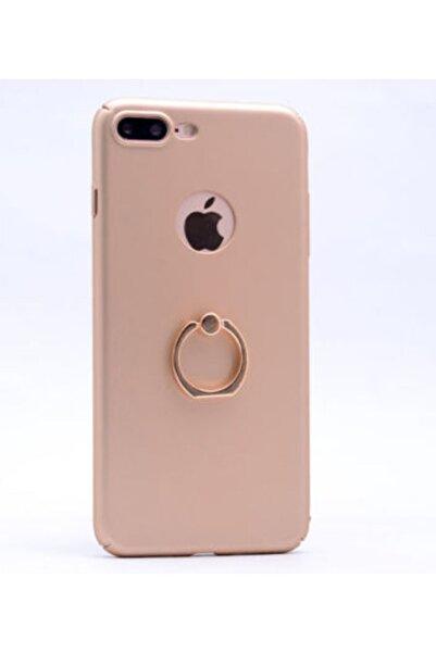 zore Apple Iphone 7 Plus Kılıf Yüzüklü Rubber Kapak