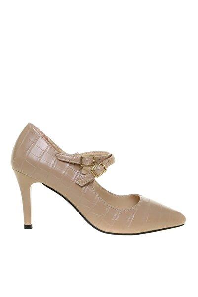 Fabrika Kadın Vizon Topuklu Ayakkabı