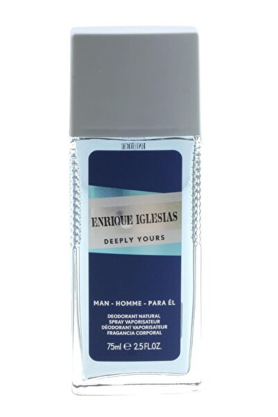 Enrique Iglesias Deeply Yours Homme Deodorant 75 Ml