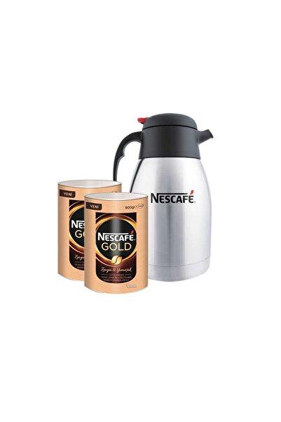 Nestle Nescafe Gold Kahve Teneke Kutu 900 Gr 2 ' Li