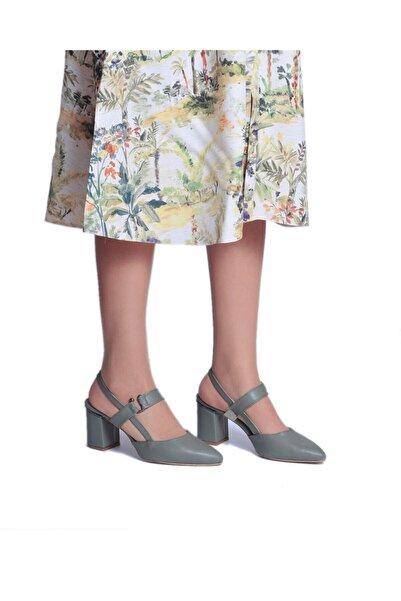 Daymotto Yeşil Topuklu Ayakkabı