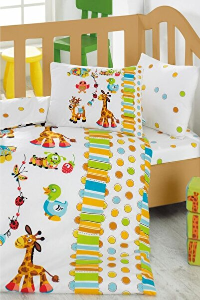 Cotton Box Oyun Bahçesi - Turkuaz Baby Collection Nevresim Takımı