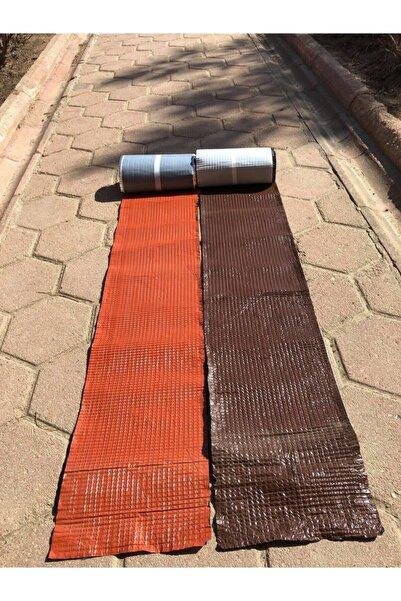 Newoline Oluklu Çatı Kaplama Alüminyum Kendinden Yapışkanlı Membrane (5 METRE) Sadece Kahverengi